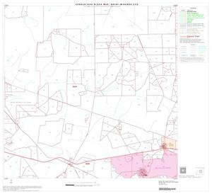 Primary view of object titled '2000 Census County Subdivison Block Map: Bruni-Mirando CCD, Texas, Block 6'.