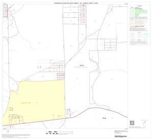 Primary view of object titled '2000 Census County Subdivison Block Map: El Paso East CCD, Texas, Block 8'.