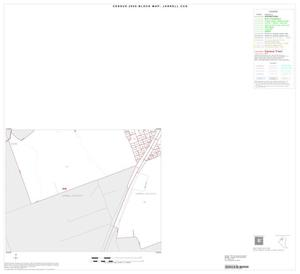 Primary view of object titled '2000 Census County Subdivison Block Map: Jarrell CCD, Texas, Inset A03'.