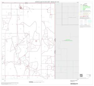 Primary view of object titled '2000 Census County Subdivison Block Map: Wheeler CCD, Texas, Block 3'.