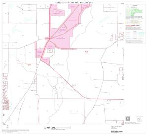Primary view of object titled '2000 Census County Subdivison Block Map: Bullard CCD, Texas, Block 5'.