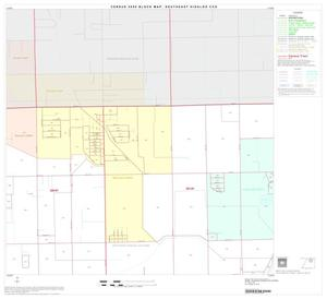 Primary view of object titled '2000 Census County Subdivison Block Map: Southeast Hidalgo CCD, Texas, Block 3'.