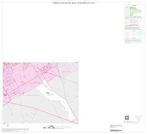 Primary view of object titled '2000 Census County Subdivison Block Map: Stephenville CCD, Texas, Inset A04'.