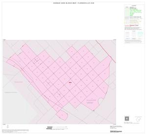 Primary view of object titled '2000 Census County Subdivison Block Map: Floresville CCD, Texas, Inset A01'.