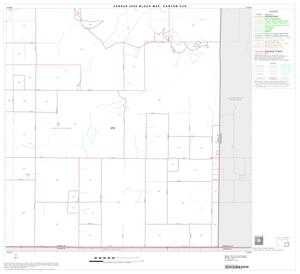Primary view of object titled '2000 Census County Subdivison Block Map: Canyon CCD, Texas, Block 6'.