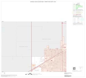 Primary view of object titled '2000 Census County Subdivison Block Map: Perryton East CCD, Texas, Inset A01'.
