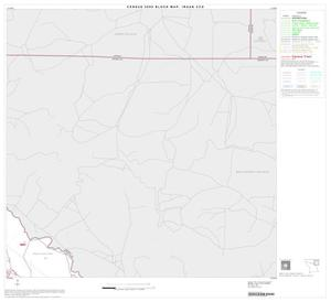 Primary view of object titled '2000 Census County Subdivison Block Map: Iraan CCD, Texas, Block 3'.