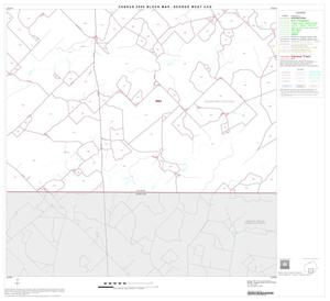 Primary view of object titled '2000 Census County Subdivison Block Map: George West CCD, Texas, Block 8'.