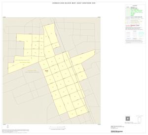 Primary view of object titled '2000 Census County Subdivison Block Map: East Grayson CCD, Texas, Inset E01'.