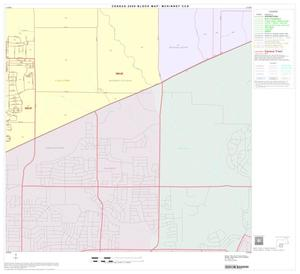 Primary view of object titled '2000 Census County Subdivison Block Map: McKinney CCD, Texas, Block 10'.