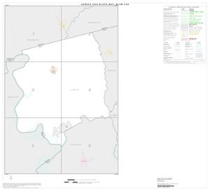 Primary view of object titled '2000 Census County Subdivison Block Map: Blum CCD, Texas, Index'.