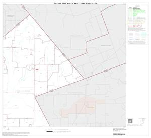 Primary view of object titled '2000 Census County Subdivison Block Map: Three Rivers CCD, Texas, Block 2'.