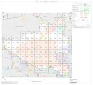 Primary view of object titled '2000 Census County Subdivison Block Map: Houston CCD, Texas, Index'.
