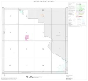 Primary view of object titled '2000 Census County Subdivison Block Map: Dumas CCD, Texas, Index'.