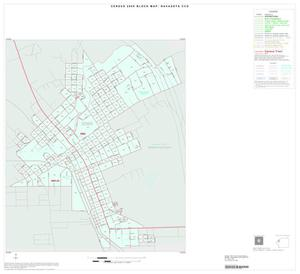 Primary view of object titled '2000 Census County Subdivison Block Map: Navasota CCD, Texas, Inset A01'.