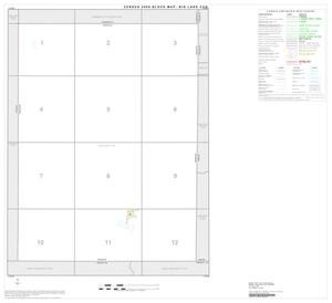 Primary view of object titled '2000 Census County Subdivison Block Map: Big Lake CCD, Texas, Index'.