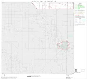 Primary view of object titled '2000 Census County Subdivison Block Map: Seagraves CCD, Texas, Block 4'.