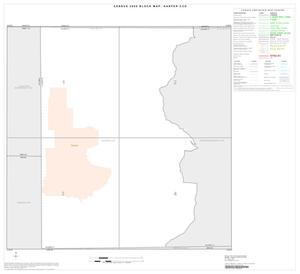 Primary view of object titled '2000 Census County Subdivison Block Map: Harper CCD, Texas, Index'.