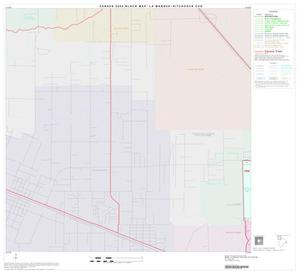 Primary view of object titled '2000 Census County Subdivison Block Map: La Marque Hitchcock CCD, Texas, Block 1'.