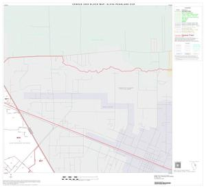 Primary view of object titled '2000 Census County Subdivison Block Map: Alvin-Pearland CCD, Texas, Block 10'.