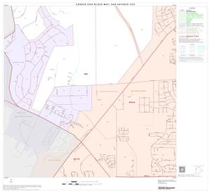 Primary view of object titled '2000 Census County Subdivison Block Map: San Antonio CCD, Texas, Block 29'.