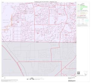 Primary view of object titled '2000 Census County Subdivison Block Map: Hebron CCD, Texas, Block 7'.