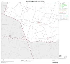 Primary view of object titled '2000 Census County Subdivison Block Map: Davilla CCD, Texas, Block 3'.