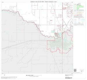 Primary view of object titled '2000 Census County Subdivison Block Map: North Randall CCD, Texas, Block 6'.