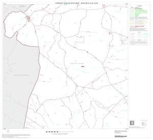 Primary view of object titled '2000 Census County Subdivison Block Map: Shelbyville CCD, Texas, Block 3'.
