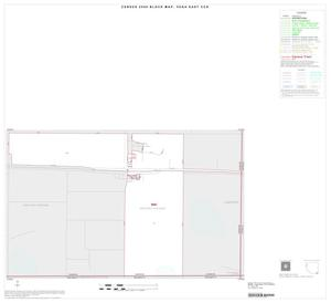 Primary view of object titled '2000 Census County Subdivison Block Map: Vega East CCD, Texas, Inset C01'.