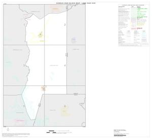 Primary view of object titled '2000 Census County Subdivison Block Map: Lone Oak CCD, Texas, Index'.