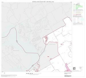 Primary view of object titled '2000 Census County Subdivison Block Map: Whitney CCD, Texas, Block 1'.