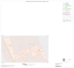 Primary view of object titled '2000 Census County Subdivison Block Map: Hawley-Noodle CCD, Texas, Inset A01'.