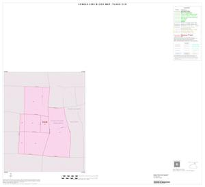 Primary view of object titled '2000 Census County Subdivison Block Map: Plano CCD, Texas, Inset A01'.