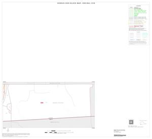 Primary view of object titled '2000 Census County Subdivison Block Map: Encinal CCD, Texas, Inset A02'.
