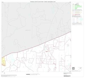 Primary view of object titled '2000 Census County Subdivison Block Map: Bruni-Mirando CCD, Texas, Block 2'.