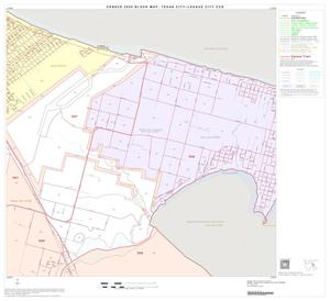 Primary view of object titled '2000 Census County Subdivison Block Map: Texas City-League City CCD, Texas, Block 9'.