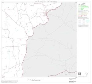 Primary view of object titled '2000 Census County Subdivison Block Map: Timpson CCD, Texas, Block 4'.