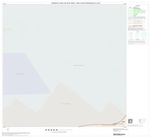 Primary view of object titled '2000 Census County Subdivison Block Map: Bolivar Peninsula CCD, Texas, Block 1'.