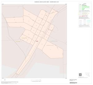 Primary view of object titled '2000 Census County Subdivison Block Map: Garrison CCD, Texas, Inset A01'.