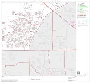 Primary view of object titled '2000 Census County Subdivison Block Map: Northwest Harris CCD, Texas, Block 34'.
