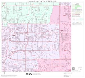 Primary view of object titled '2000 Census County Subdivison Block Map: Northeast Tarrant CCD, Texas, Block 14'.