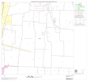 Primary view of object titled '2000 Census County Subdivison Block Map: East Grayson CCD, Texas, Block 17'.