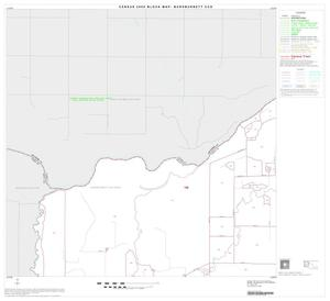 Primary view of object titled '2000 Census County Subdivison Block Map: Burkburnett CCD, Texas, Block 1'.