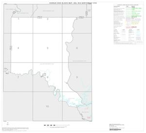 Primary view of object titled '2000 Census County Subdivison Block Map: Del Rio Northwest CCD, Texas, Index'.