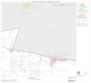 Primary view of object titled '2000 Census County Subdivison Block Map: Liberty-Dayton CCD, Texas, Block 7'.