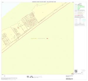 Primary view of object titled '2000 Census County Subdivison Block Map: Galveston CCD, Texas, Block 16'.