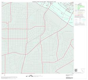 Primary view of object titled '2000 Census County Subdivison Block Map: Northeast CCD, Texas, Block 41'.
