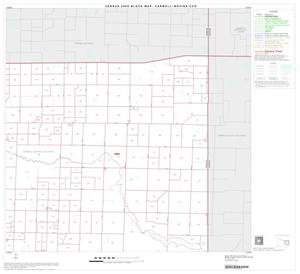Primary view of object titled '2000 Census County Subdivison Block Map: Farwell-Bovina CCD, Texas, Block 5'.