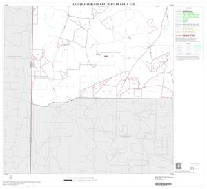 Primary view of object titled '2000 Census County Subdivison Block Map: Mertzon North CCD, Texas, Block 4'.